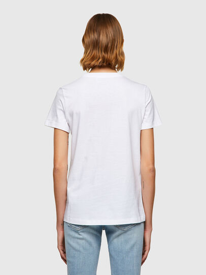 Diesel - T-SILY-B8, Weiß - T-Shirts - Image 2
