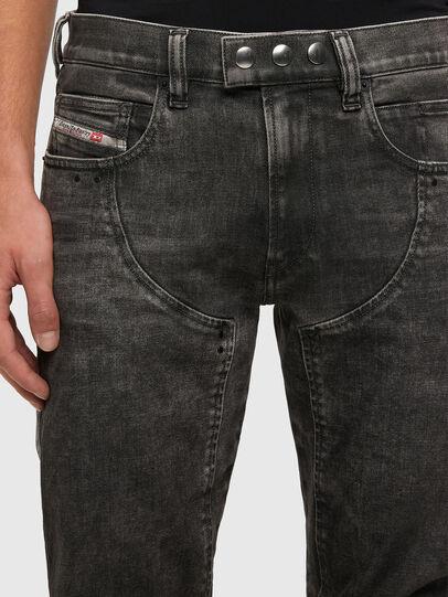 Diesel - D-Dean 009LI, Schwarz/Dunkelgrau - Jeans - Image 3