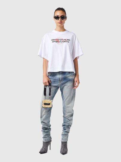 Diesel - T-BOWXY-B1, Weiß - T-Shirts - Image 4