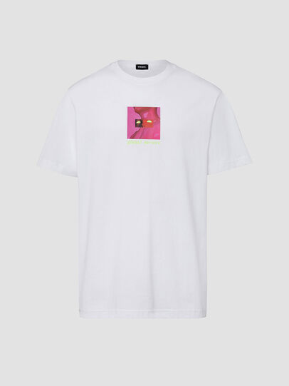 Diesel - T-JUST-X64, Weiß - T-Shirts - Image 1