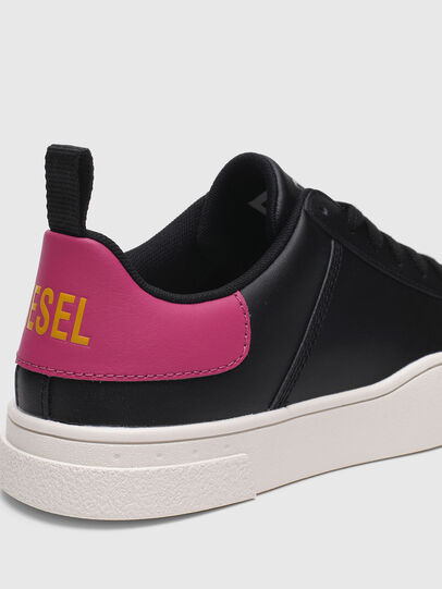 Diesel - S-CLEVER LOW LACE W, Schwarz/Rosa - Sneakers - Image 4