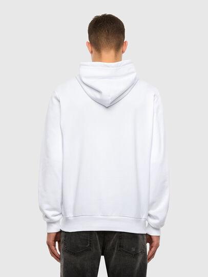 Diesel - S-GIRK-HOOD-N1, Weiß - Sweatshirts - Image 3