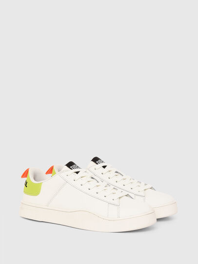 Diesel - S-CLEVER LOW LACE, Weiss/Gelb - Sneakers - Image 2
