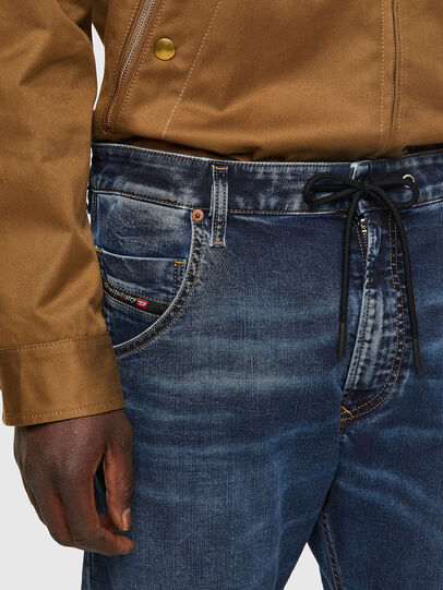 Diesel - Krooley JoggJeans® 069VX, Dunkelblau - Jeans - Image 4