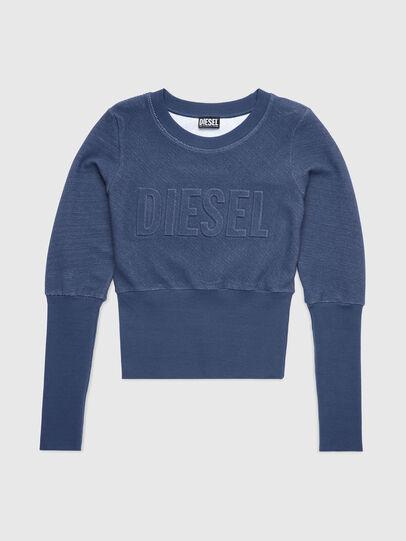 Diesel - UFLT-WILLAS-DW, Blau - Sweatshirts - Image 1