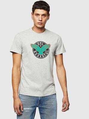 T-DIEGO-B5, Hellgrau - T-Shirts
