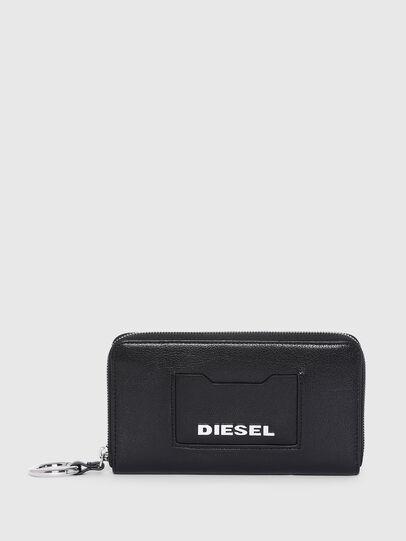 Diesel - GRANATO LC, Schwarz - Portemonnaies Zip-Around - Image 1