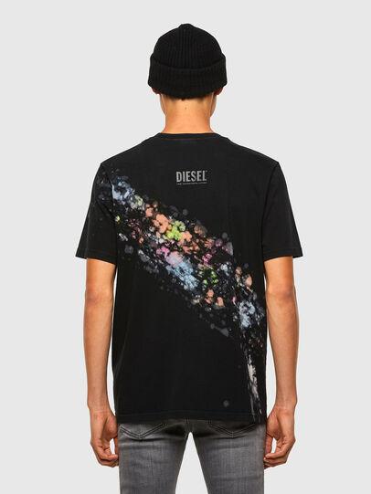 Diesel - T-JUST-A40, Schwarz - T-Shirts - Image 2
