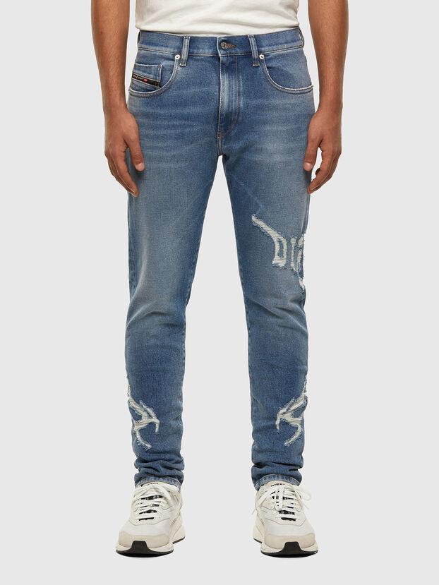 D-Strukt 009DW, Hellblau - Jeans
