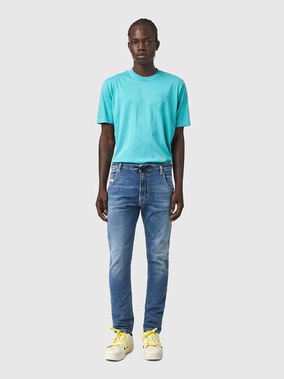 Diesel - Krooley JoggJeans® Z69VK, Mittelblau - Jeans - Image 5