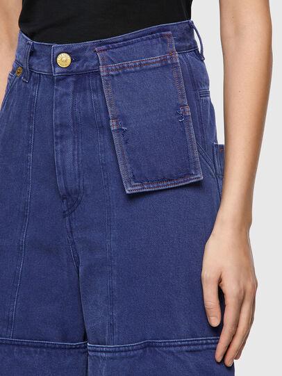 Diesel - D-Luite 0EEAX, Mittelblau - Jeans - Image 5