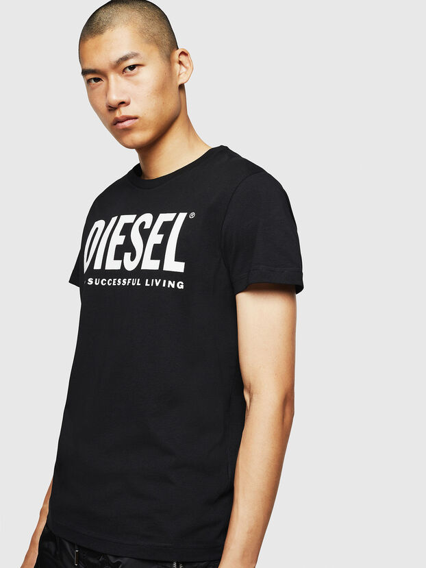 T-DIEGO-LOGO, Schwarz - T-Shirts