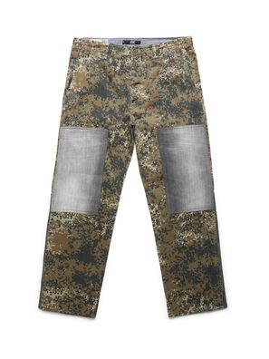 D-ONT-HURT-ME, Camouflagegrün - Hosen
