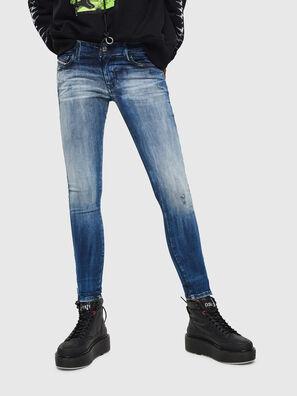 Slandy Low 0095C, Mittelblau - Jeans