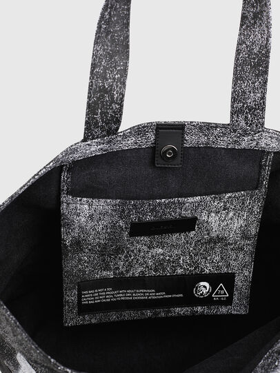 Diesel - D-THISBAG SHOP MB, Grau/Schwarz - Shopper und Schultertaschen - Image 4