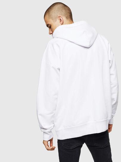 Diesel - S-ALBY, Weiß - Sweatshirts - Image 2