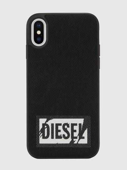 Diesel - BLACK DENIM IPHONE X CASE, Schwarz - Schutzhüllen - Image 2