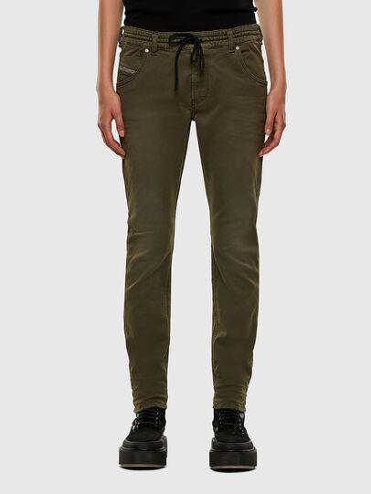 Diesel - KRAILEY JoggJeans® 0670M, Armeegrün - Jeans - Image 1