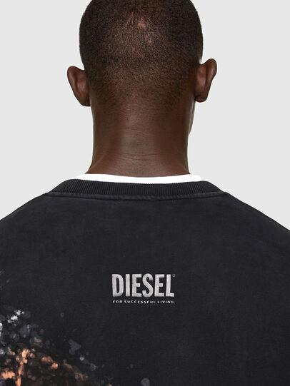 Diesel - S-MART-A92, Schwarz - Sweatshirts - Image 4