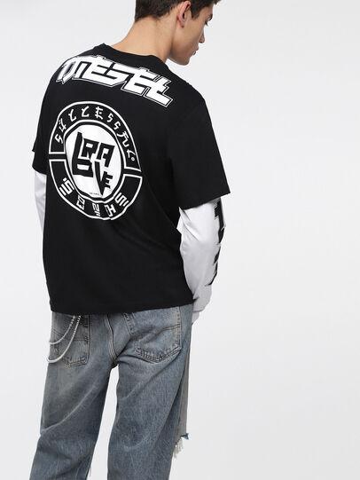Diesel - T-SOUND, Schwarz - T-Shirts - Image 2