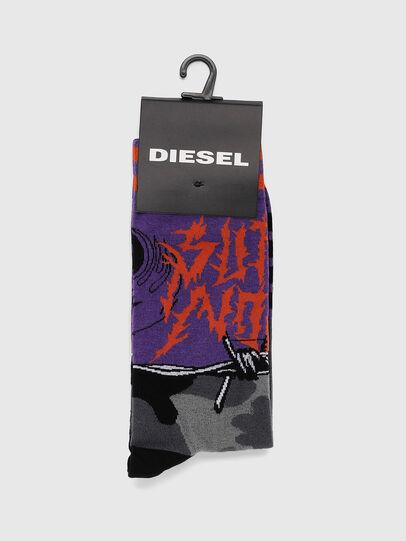 Diesel - SKM-RAY, Violett - Strümpfe - Image 2