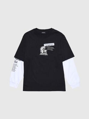 TSHOOTYA OVER, Schwarz/Weiß - T-Shirts und Tops