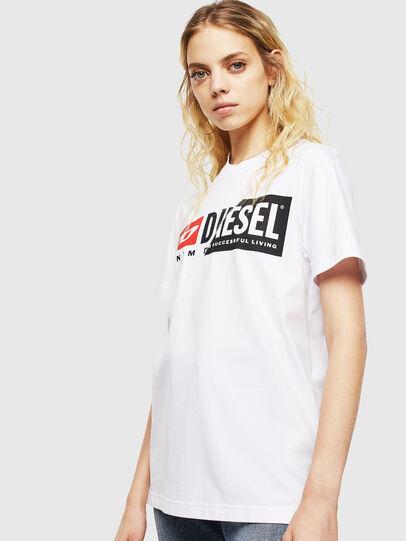 Diesel - T-DIEGO-CUTY, Weiß - T-Shirts - Image 5