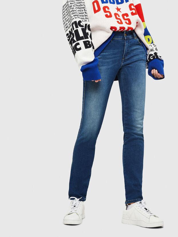 Sandy 086AL, Mittelblau - Jeans
