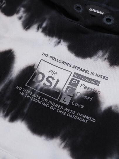 Diesel - SUMMERA83 OVER, Schwarz/Weiss - Sweatshirts - Image 3
