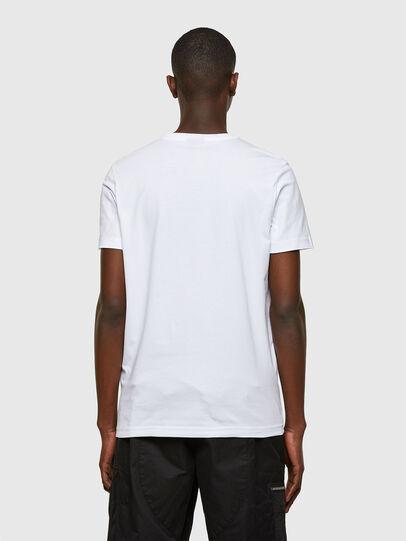 Diesel - T-DIEGOS-SMALLOGO, Weiß - T-Shirts - Image 2