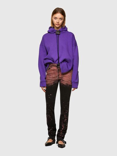 Diesel - F-RENTOL, Violett - Sweatshirts - Image 5