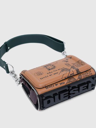 Diesel - CL - YBYS S CNY, Beige - Schultertaschen - Image 5