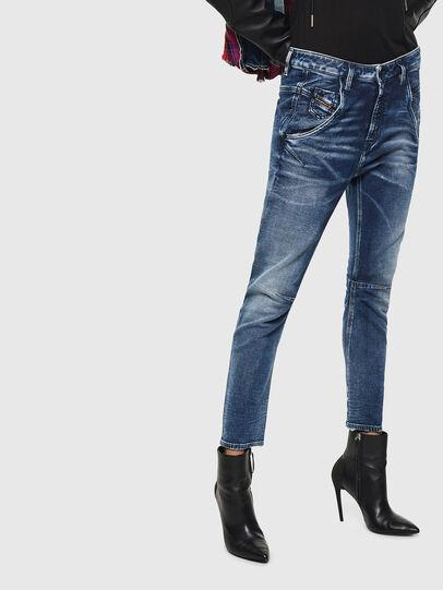 Diesel - Fayza JoggJeans 0096M, Dunkelblau - Jeans - Image 1