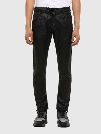 Diesel - KROOLEY JoggJeans® 0849R, Schwarz/Dunkelgrau - Jeans - Image 1