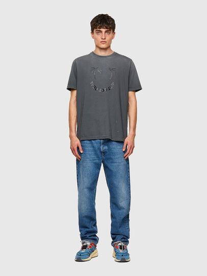 Diesel - T-JUST-B64, Grau - T-Shirts - Image 4
