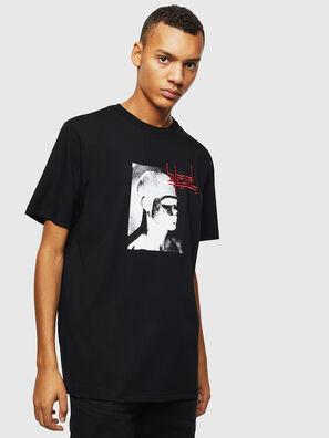 T-JUST-J21, Schwarz - T-Shirts