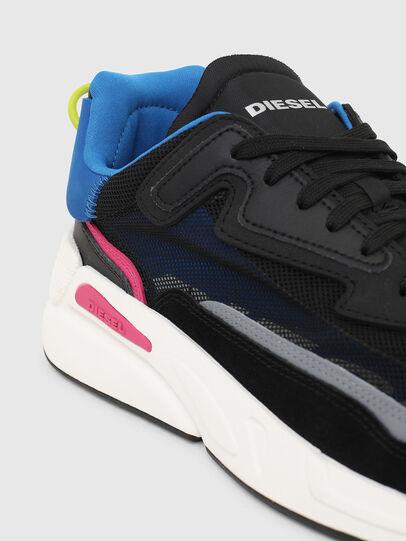 Diesel - S-SERENDIPITY SM, Schwarz/Blau - Sneakers - Image 4