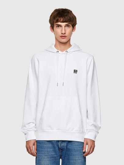Diesel - S-GIRK-HOOD-K21, Weiß - Sweatshirts - Image 1