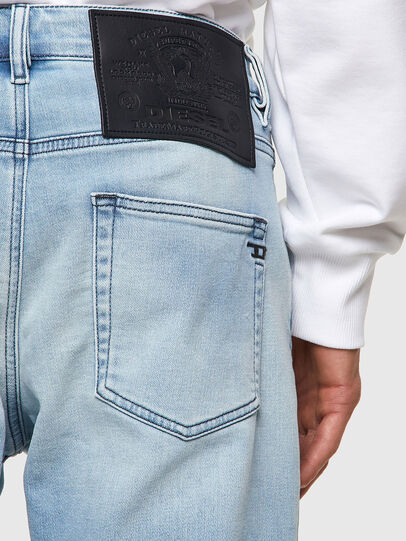 Diesel - D-Strukt JoggJeans® Z69VL, Hellblau - Jeans - Image 3