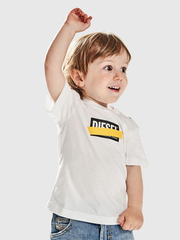 TJUSTDIXB, Weiß - T-Shirts und Tops