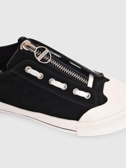 Diesel - S-ASTICO LZIP W, Schwarz - Sneakers - Image 4
