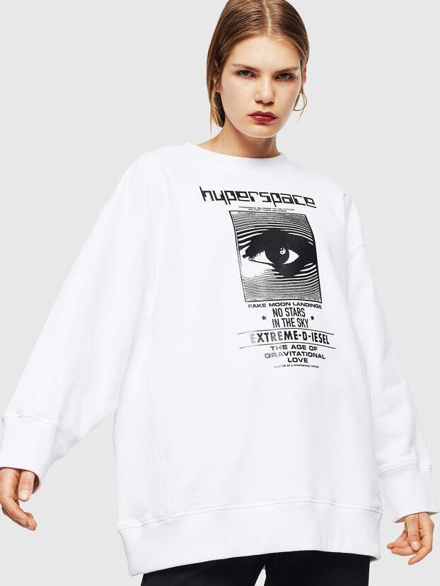 F-AKUA, Weiß - Sweatshirts