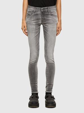 Slandy Low 009FD, Hellgrau - Jeans