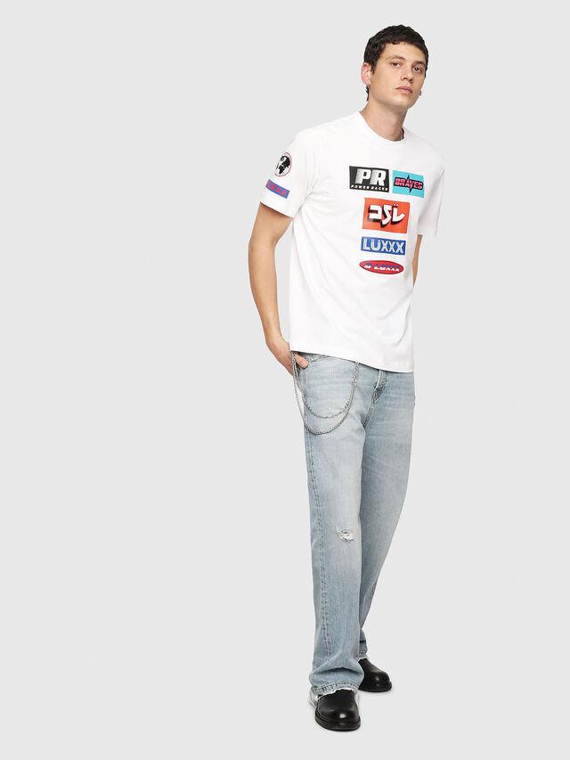 Diesel - T-JUST-YA, Weiß - T-Shirts - Image 5