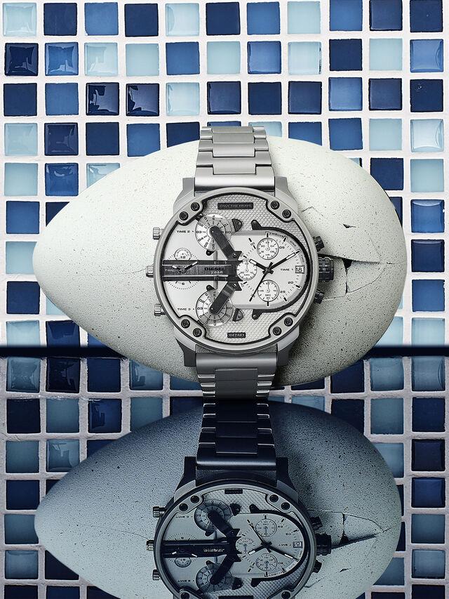 Diesel - DZ7421, Silber/Schwarz - Uhren - Image 2