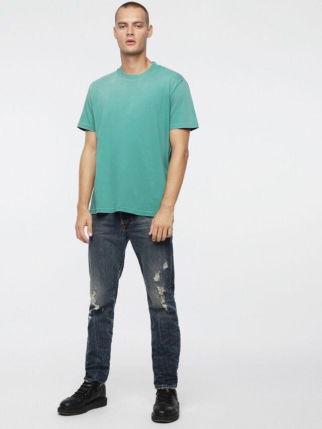 Diesel T-JOEY-T, Wassergrün - T-Shirts - Image 4