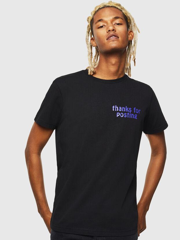 T-DIEGO-J20, Schwarz - T-Shirts
