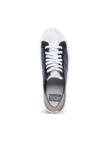 Diesel - S-MYDORI LC, Schwarz/Beige - Sneakers - Image 4