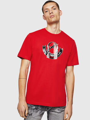 T-JUST-B1, Feuerrot - T-Shirts