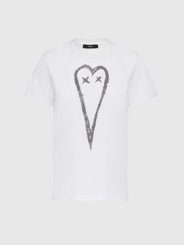 T-SILY-E53, Weiß - T-Shirts